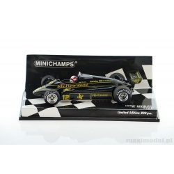 F1 LOTUS 91 Mansell 1982 1/43 MINICHAMPS 417820012 John Player Special