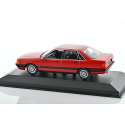 AUDI 100 C3 2.3 E Red 1990 1/43 MINICHAMPS 940015200