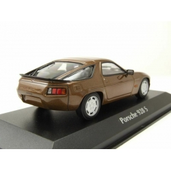PORSCHE 928 S brown metallic 1979 1/43 MINICHAMPS 940068120