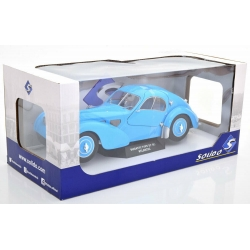 BUGATTI Type 57 SC Atlantic light blue 1938 1/18 SOLIDO S1802104